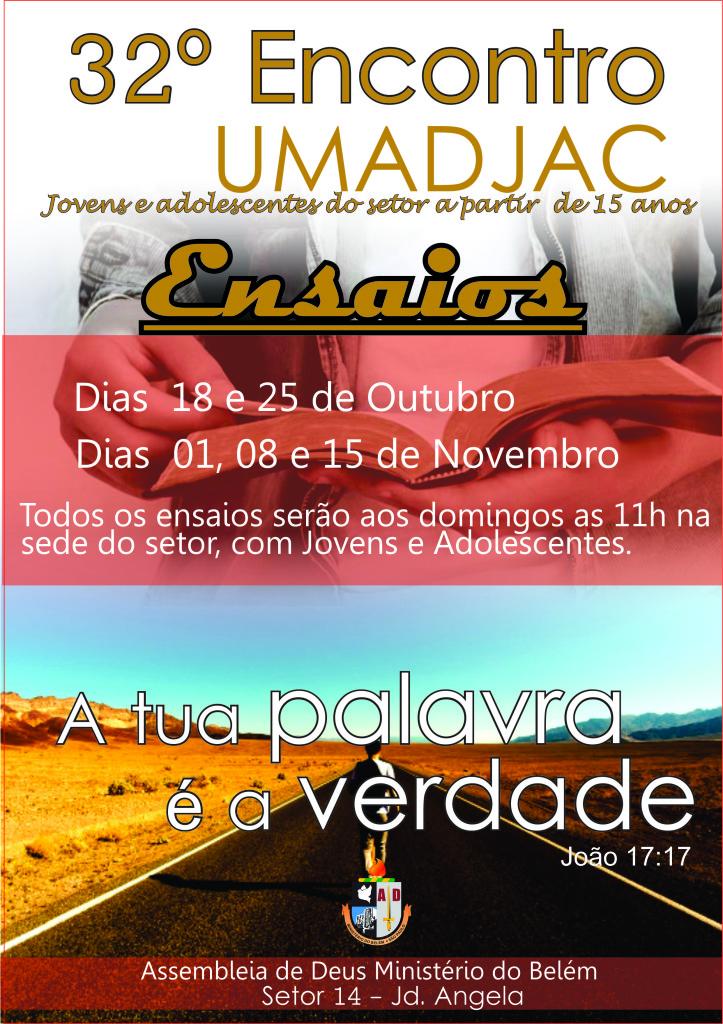 UMADJAC 2015 ensaio