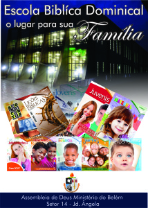 Banner Escola dominical sede